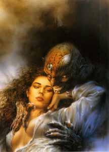 <p>El clásico de la Bella y la Bestia, según Luis Royo.</p>