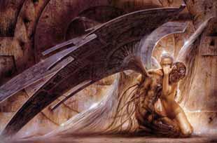 <p>Una imagen apocalíptica de Luis Royo.</p>