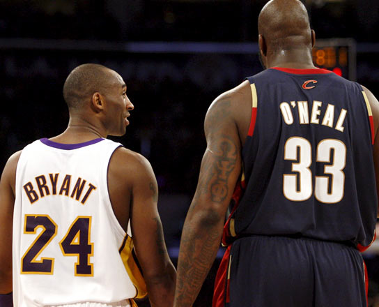 Kobe Bryant y O'Neal