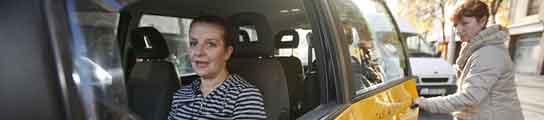 Taxi sólo para mujeres en Barcelona  (Imagen: Miquel Taverna)