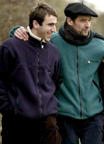 Josu Ternera y su hijo, Egoitz