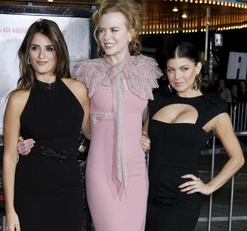 Penélope Cruz, Nicole Kidman y Fergie