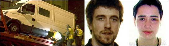 Cuatro etarras son detenidos en pocas horas: dos conducían una furgoneta con explosivos