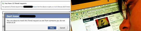 Nueva opción en Facebook para bloquear solicitudes de 'amigos' desconocidos  (Imagen: FACEBOOK)