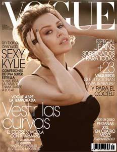 <p>Kylie Minogue en Vogue - 300</p>