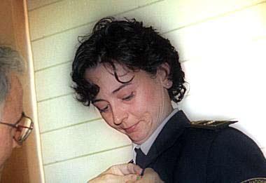 Rosa Crespo, fallecida en Haití.