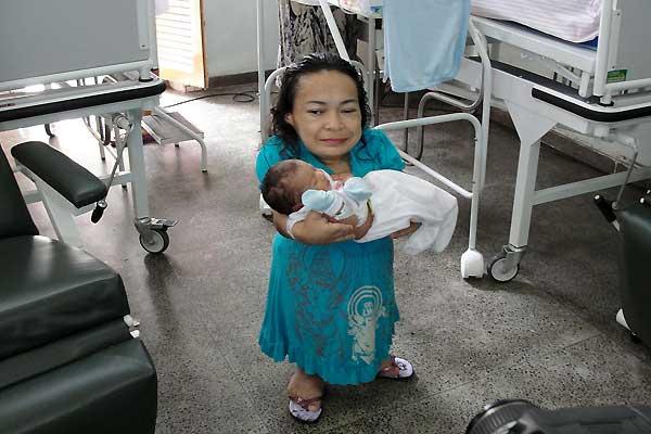 La segunda madre más pequeña del mundo