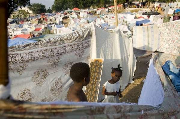 Campamento  en Hait�