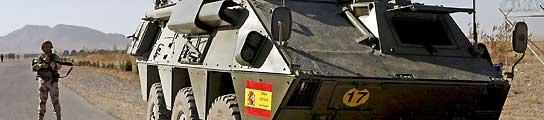 Un muerto y seis heridos en un atentado contra las tropas españolas en Afganistán  (Imagen: Gustavo Cuevas / EFE)