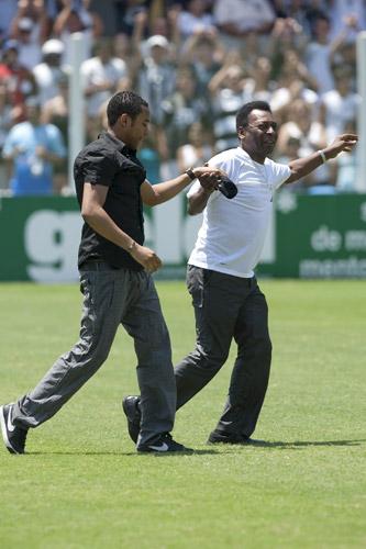 Robinho y Pelé