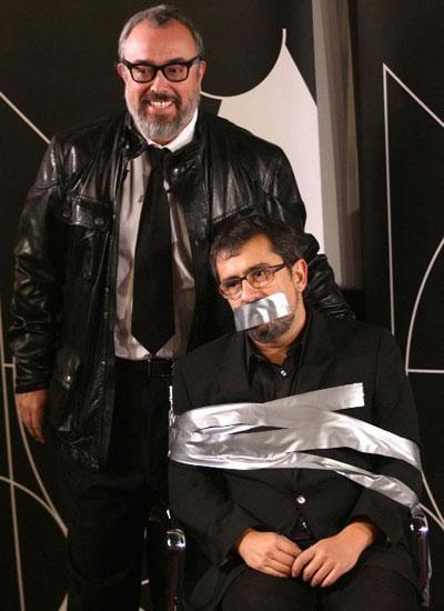 Andreu Buenafuente y Alex de la Iglesia