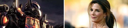 Transformers 2 y Sandra Bullock