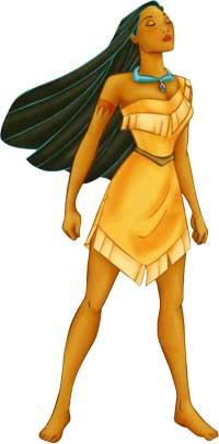 <p>Pocahontas.</p>