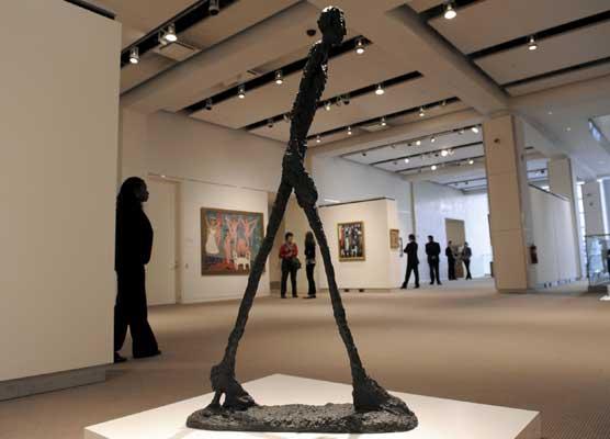 Escultura de Giacometti