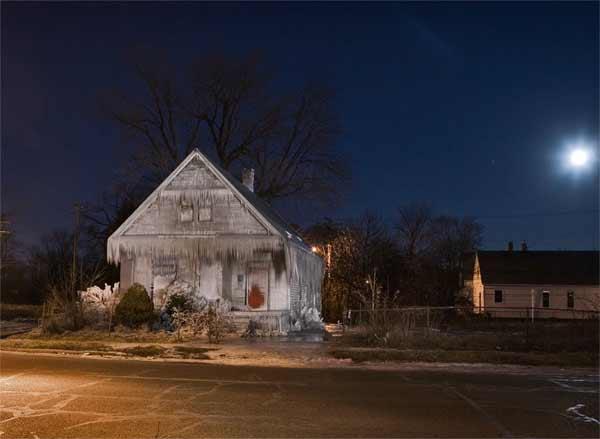 Casa congelada de Detroit
