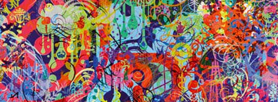 Obra de Ryan McGinness