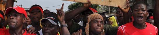 Manifestación togoleses