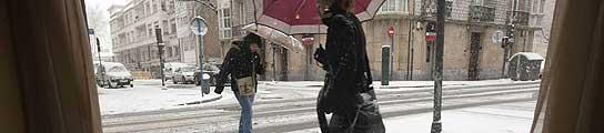 España se helará este viernes  (Imagen: DAVID AGUILAR / EFE)