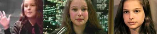 Los comienzos de Natalie Portman: la pequeña activista que no pudo  ser modelo  (Imagen: YOUTUBE)
