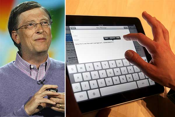 Bill Gates Ipad Bill Gates Critica el Ipad Por