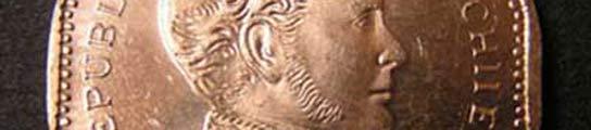 Moneda de 50 pesos chilenos