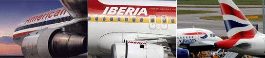 Iberia, American Airlines y British