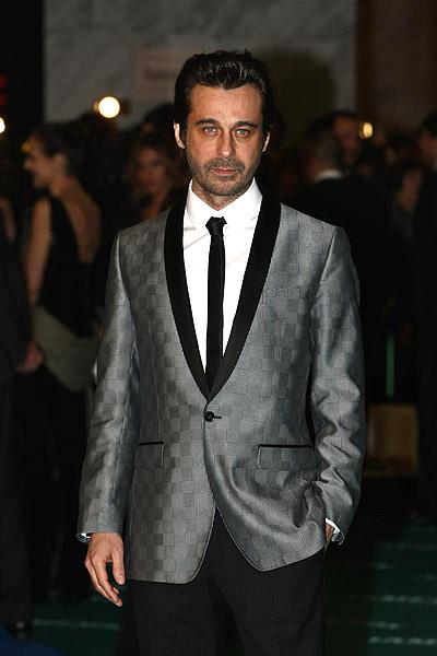 Los Goya (Jordi Mollá). Jordi Mollá, nominado a la mejor interpretación masculina protagonista por El cónsul de Sodoma, con un traje de Dolce & Gabanna.