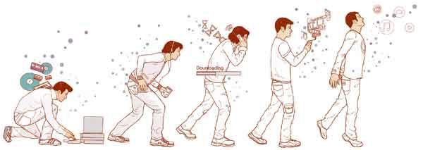 La evolución del hombre tecnológico