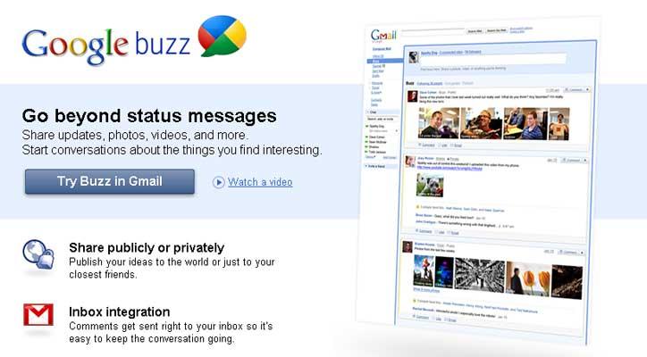 Google anuncia a los afectados del 'caso Buzz' el pago de una indemnización