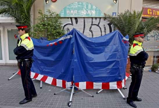 Doble crimen en Barcelona.