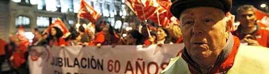 Manifestaciones contra la reforma de las pensiones