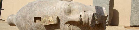 Cabeza de granito de Amenhotep III
