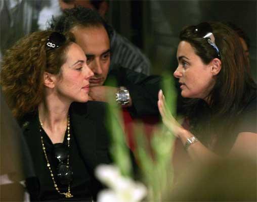 Rocío Carrasco y Carmen Morales