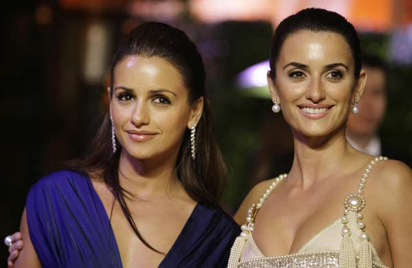 Mónica y Penélope Cruz