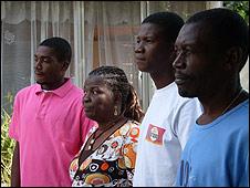 La familia Desarmes, en una fotografía de <a title=