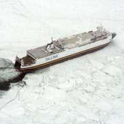 <p>Barcos atrapados</p>