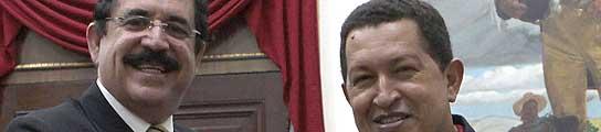 """Chávez considera que la relación con España ha """"vuelto a su cauce""""  (Imagen: MIRAFLORES / EFE)"""