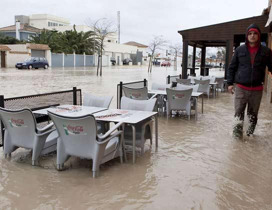 Inundaciones en Chiclana