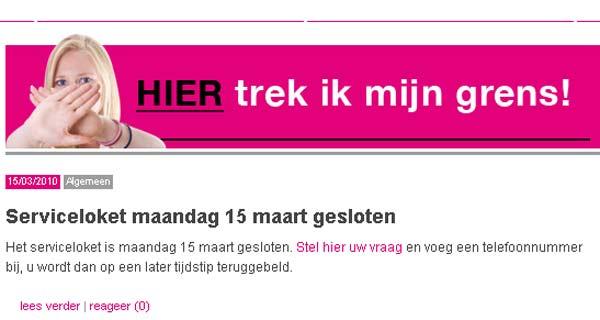 Campaña del sindicato de enfermeras holandesas