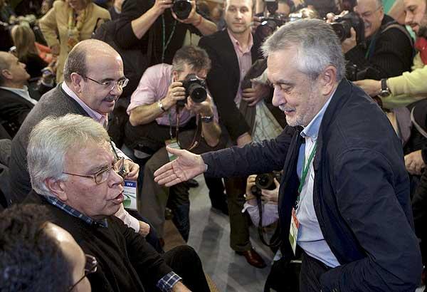 Griñán, nuevo secretario general del PSOE-A