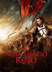 Acantilado rojo - Cartel