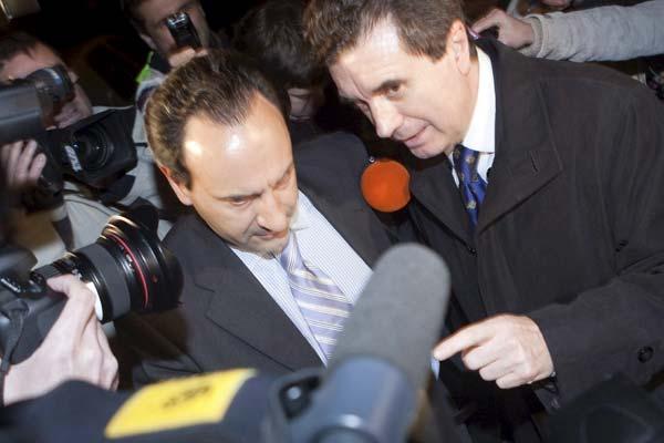 Jaume Matas, en los juzgados.