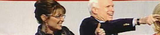 Sarah Palin y John McCain