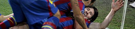 Leo Messi destroza al Arsenal y mete al FC Barcelona en semifinales de la Champions  (Imagen: EFE)