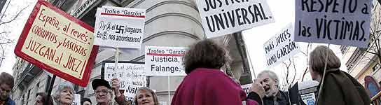 La suspensión de Garzón dejaría en el aire varias causas por corrupción y terrorismo  (Imagen: Javier Lizón/ EFE)
