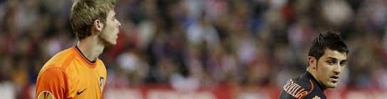 David De Gea mete al Atlético de Madrid en semifinales de la Liga Europa  (Imagen: EFE)