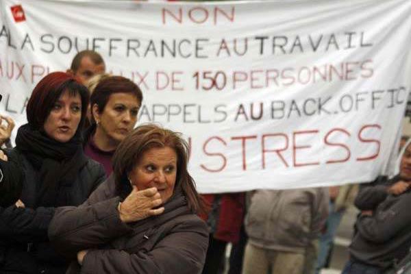 Trabajadores de France Télécom