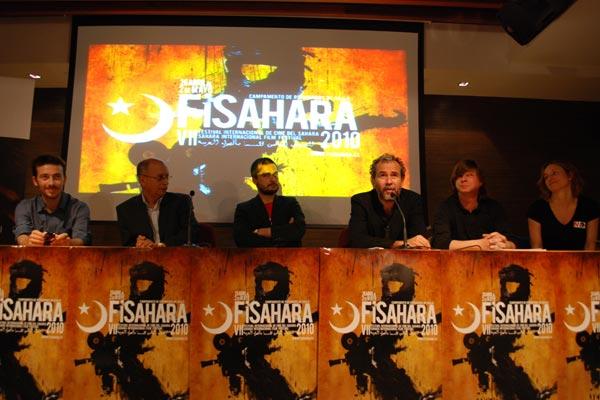 Willy Toledo presenta la VII edición de FiSahara