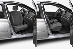 <p>Asiento giratorio de Renault Clio</p>