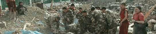 Un terremoto de 7 grados causa al menos 300 muertos en el oeste de China  (Imagen: CCTV)